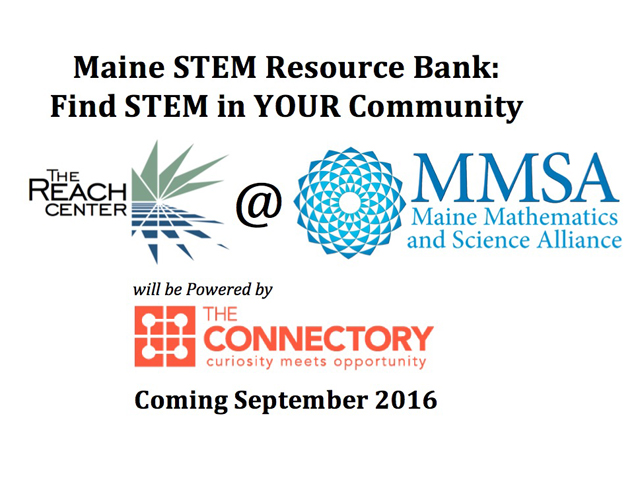 Coming Soon: New, Improved Maine STEM Resource Bank